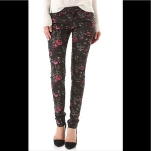 Joes Jeans The Skinny Electric Floral Jean 27